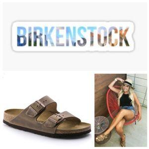 NEW!  Birkenstock Arizona Oiled Leather sandal 40